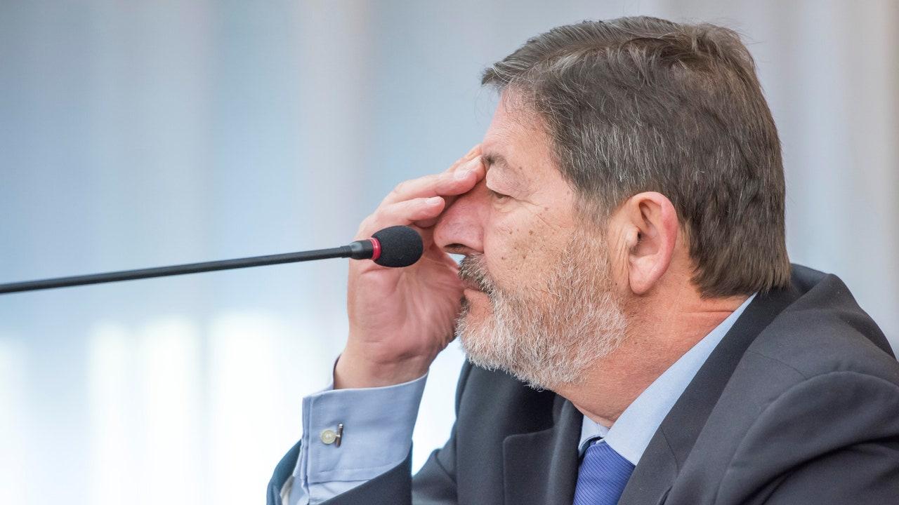 Francisco Javier Guerrero en el juicio de los ERE