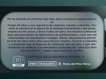 La historia de María del Pino (1)
