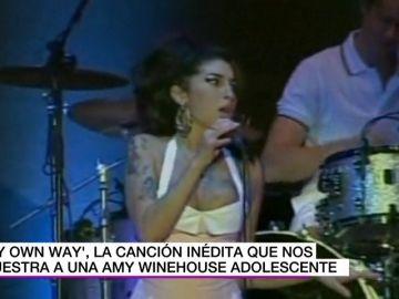 La canción inédita de Amy Winehouse y otras actuaciones precoces de los más grandes