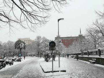 Temporal de nieve en Gipuzkoa