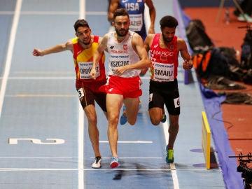 Saúl Ordóñez, en una carrera