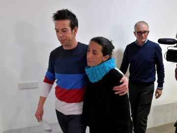 Los padres de Gabriel Cruz
