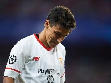Jesús Navas se perderá el duelo ante el Manchester United