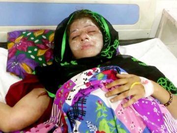 Farah se recupera de las heridas del ataque de ácido
