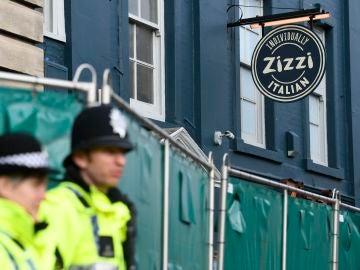 La pizzería Zizzi en la que se han encontrado restos del gas tóxico