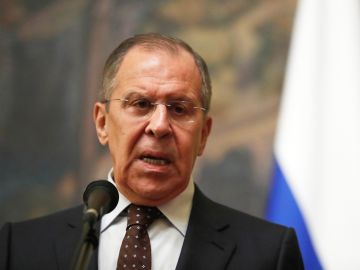 El ministro de Exteriores ruso en rueda de prensa en Moscú