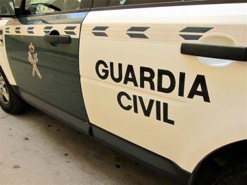 Imagen de un vehículo de la Guardia Civil