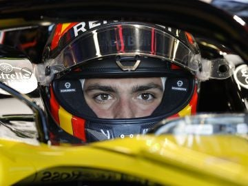 Carlos Sainz, en los primeros libres del GP de Australia