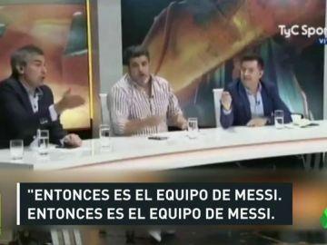 """Otra vez críticas hacia Messi por una frase de Sampaoli: """"Vuelven todos los jugadores que se llevan bien con Messi"""""""