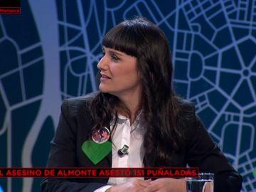La esposa y madre de las víctimas de Almonte, Marianela Olmedo,
