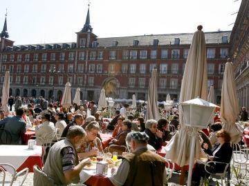 Imagen de la Plaza Mayor de Madrid