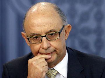 El exministro de Hacienda Cristóbal Montoro