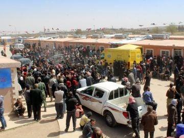 Ciudadanos desplazados de Guta Oriental