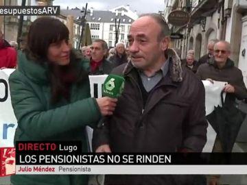 Julio Méndez, pensionista