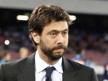 Andre Agnelli, presidente de la Juventus.