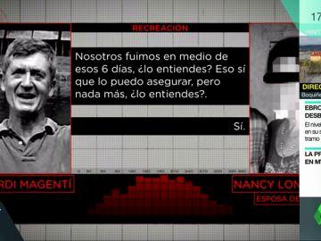 La conversación de Jordi Magentí con su esposa que desmontaría su coartada en el crimen de Susqueda