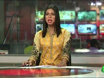 La primera presentadora trangénero paquistaní