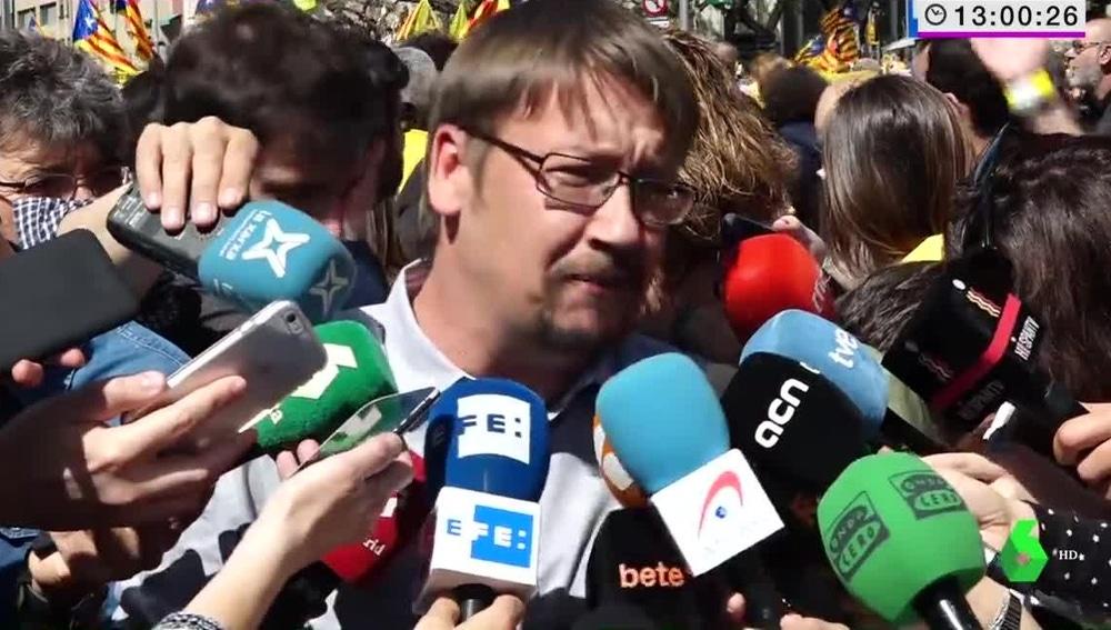 El diputado de Catalunya En Comú-Podem, Xavier Domènech