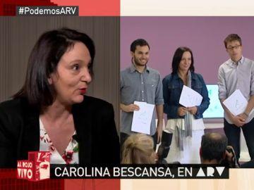Carolina Bescansa, diputada de Podemos
