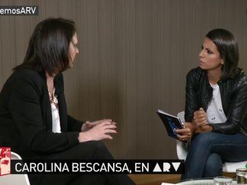 La diputada de Unidos Podemos Carolina Bescansa