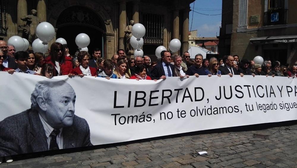 Homenaje a Tomás Caballero en Navarra