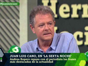 Juan Luis Cano en laSexta Noche