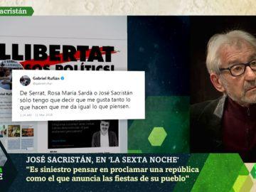 José Sacristán a Gabriel Rufián