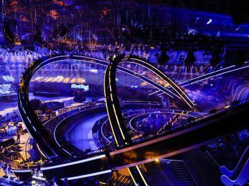 El escenario de Eurovisión