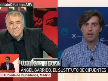 El periodista Pablo Montesinos