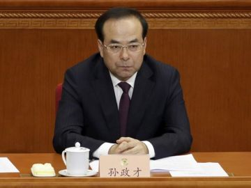 Sun Zhengcai, expresidente del PCCh en Chongqing