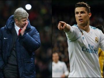 El Arsenal estuvo cerca de fichar a Cristiano, que al final se decidió por Manchester