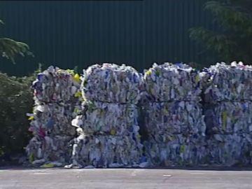 Imagen de material reciclado