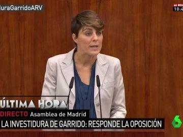 Lorena Ruiz-Huerta en la Asamblea de Madrid