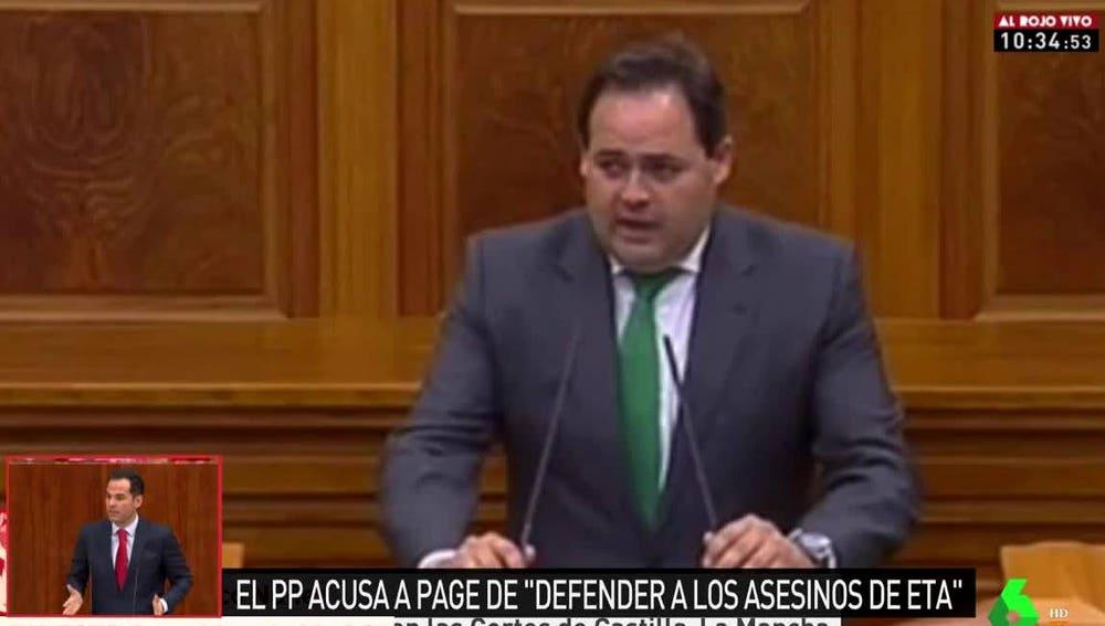 Francisco Núñez, diputado del PP de Castilla-La Mancha