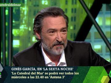 Ginés García, actor de 'La Catedral del Mar'