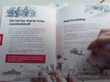 Suecia prepara a sus ciudadanos ante una posible guerra