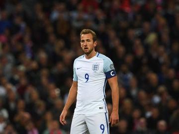 Harry Kane, en un partido con Inglaterra