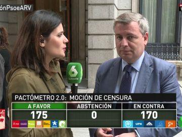 """Jordi Xuclà, sobre la moción de censura: """"Aquí hay actos reflejos del régimen del 78 y reivindicación de actitudes franquistas"""""""