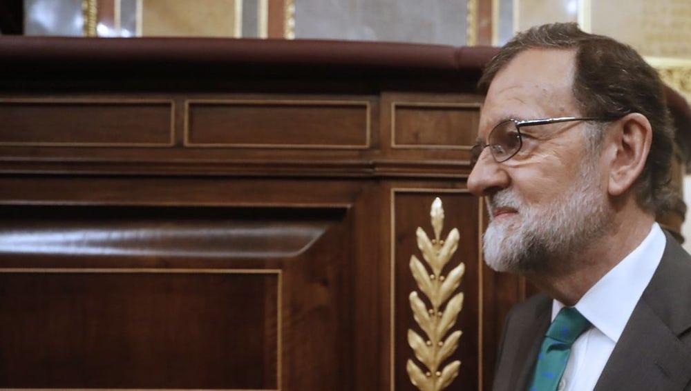 Imagen de Mariano Rajoy en el Congreso de los Diputados