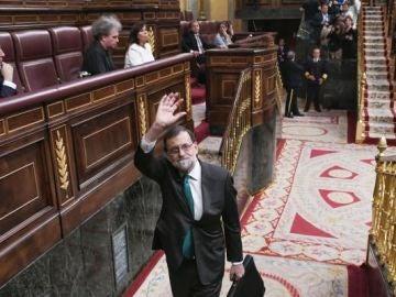 Mariano Rajoy se despide del Congreso
