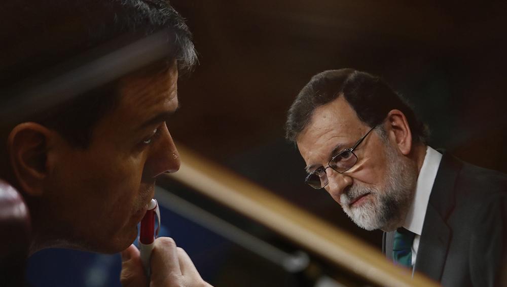 Pedro Sánchez y Mariano Rajoy