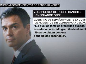 Los compromisos pendientes de Pedro Sánchez