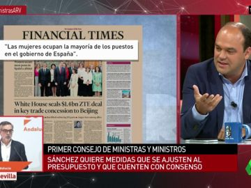 """José Carlos Díez: """"Es un buen Gobierno. La portada de Financial Times es la marca España que a todos nos gustaría trasmitir"""""""