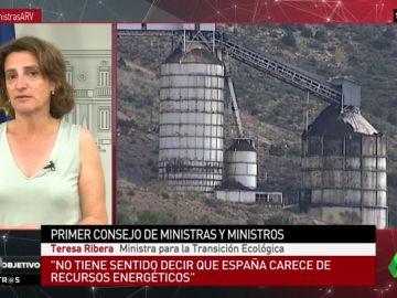 """Teresa Ribera: """"No tiene sentido decir que España carece de recursos energéticos, todo lo contrario"""""""