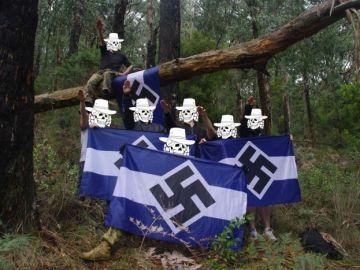 Un grupo de los neonazis de Antipodean Resistance