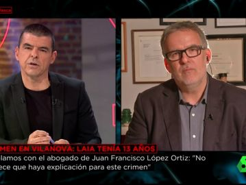 Álex Zaragüeta, abogado de Juan Francisco López Ortiz, presunto asesino de Laia