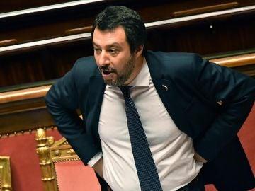 El ministro de Interior italiano, Matteo Salvini