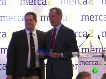Silvio González, premio 'Merca2' de comunicación