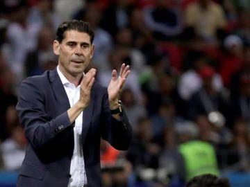 El exseleccionador español, Fernando Hierro.