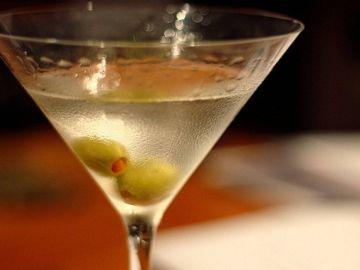 Imagen de archivo de un martini